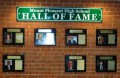 Mount Pleasant Hall of Fame Wall