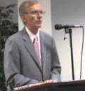 Robert Huber Accepts 2009 Hall of Fame Award