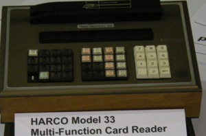 Campus Card Museum | Harco M-33 Reader